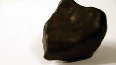 Stony Iron Meteorite Stock Footage