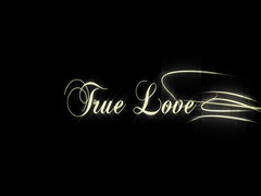 Set of 6 Wedding Titles-honeymoon, two become one, two hearts combine, until dea Stock Footage