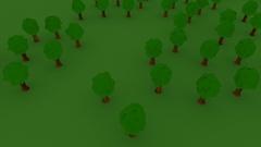 Cartoony castle castle CGI Stock Footage