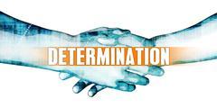 Determination Stock Illustration