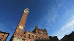 Tme lapse Piazza del Campo Stock Footage