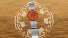 Basketball and 2018 Stock Footage