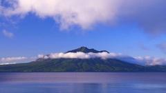 Lake Shikotsu, Hokkaido, Japan Stock Footage