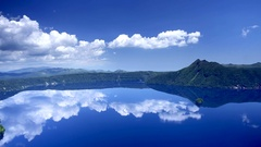 Lake Mashu, Hokkaido, Japan Stock Footage