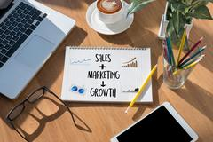 SALES MARKETING CONCECT , Customer Marketing Sales Dashboard Graphics and B.. Kuvituskuvat