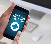Medical First Aid Paramedic Medication Accidental Emergency  doctor hand wo.. Kuvituskuvat