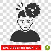 Headache Vector EPS Icon Stock Illustration