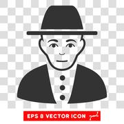 Jew Vector EPS Icon Piirros