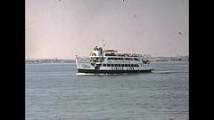 Circle Line Sightseeing Cruises Stock Footage