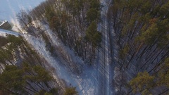 Attempt to landing the drone at strong interference area Stock Footage
