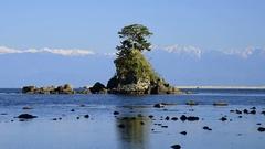 Noto Peninsula National Park, Toyama Prefecture, Japan Stock Footage