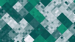 Abstract animated green screen saver Stock Footage
