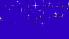 Abstract animated blue screen saver Stock Footage