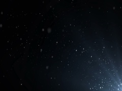 Particles dust abstract light bokeh motion titles cinematic background loop Stock Footage