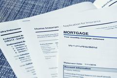 Mortgage Statement Stock Photos