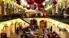 Covent Garden1 motion Stock Footage