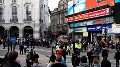 Picadilly Circus Tag2 1080p Stock Footage