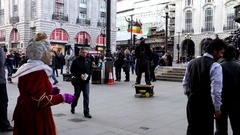 Picadilly Circus Tag1 1080p Stock Footage