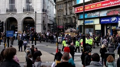 Picadilly Circus Tag2 motion Stock Footage