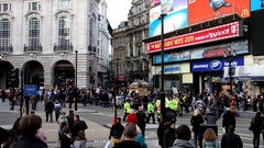Picadilly Circus Tag2 4K Stock Footage