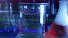 Laboratory Equipment. Laboratory Experiment. Stock Footage