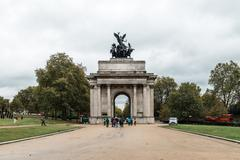 Wellington Arch or Constitution Arch  in London, uk Kuvituskuvat