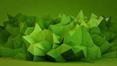 Green surface in studio seamles loop 3D render 4k UHD (3840x2160) Stock Footage