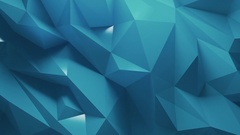 Abstract blue Metallic Background Random Motion, 3d Loopable Animation 4k Stock Footage