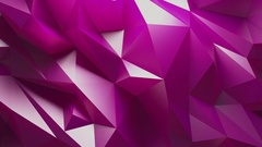 Abstract Purple Background Random Motion, 3d Loopable Animation 4k Stock Footage