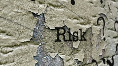 Risk grunge concept Stock Footage