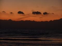 Orange sunrise Stock Footage