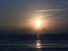Sinai sunrise X close Stock Footage