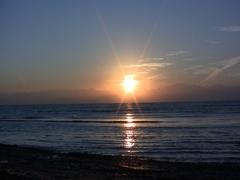 Sinai sunrise X Stock Footage