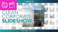 Clean Corporate Slideshow -  Apple Motion and Final Cut Pro X Template Stock After Effects