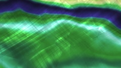 Green and Blue Sea Nacre Wall Slipping  -     Video Footage Stock Footage