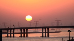Arrival to the port of Abu Dhabi Arkistovideo