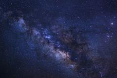 Close-up of Milky way galaxy with stars and space dust in the universe, Lon.. Kuvituskuvat
