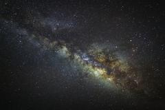 Milky way galaxy with stars and space dust in the universe, Long exposure p.. Kuvituskuvat