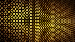 Abstract Circles Background LOOP 4K yellow Stock Footage