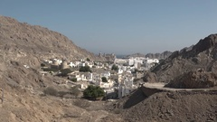 Arriving at Mascat, Oman Stock Footage