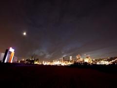 Firework at hamburg port celebration day, germany in 1080p Stock Footage