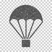Parachute Grainy Texture Icon Piirros