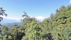 Aerial stock footage of Himalayan mountains Stock Footage