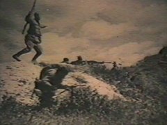 Military chronicle Stock Footage