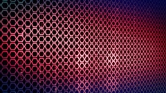 Abstract hexagon Background LOOP 4K Blue-red Stock Footage