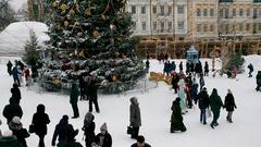 Winter fest Stock Footage