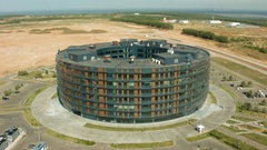 Innopolis is a new town in Russia, located in the Republic of Tatarstan Stock Footage