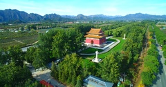 Ming tombs Stock Footage