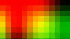Active background, smooth movement of multi-colored squares Stock Footage