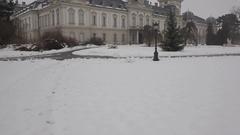 Festetics castle, Keszthely, Hungary Stock Footage